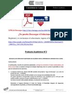 Contabilidad de Costos I Producto Académico N°2