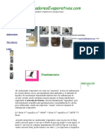 condensadores evaporativos eficiencia