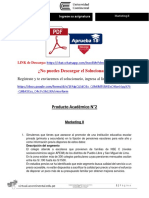 Marketing II Producto Académico N°2