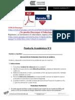 QUIMICA I Producto Académico N°2