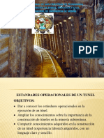 Estandares de Contruccion de Tunel -- Mina