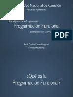 Paradigma Funcional con Python