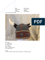 Viking Helmet crochet pattern