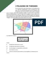 Método Poligono de Thiessen