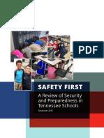 School Security Preparedness Report