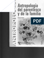 Antropología Del Parentesco y de La Familia Primera Parte