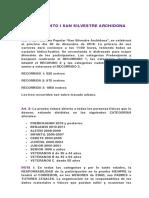 Reglamento San Silvestre