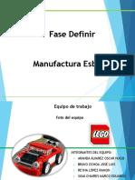 Fase Definir - Manufactura Esbelta