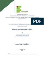 Apostila CM2_ II Propriedades Mecânicas.pdf