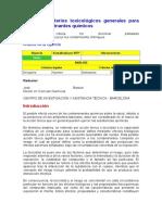 NTP 108 Criterios Toxicologigos de Contaminantes Quimicos