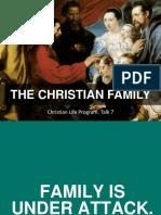 CFC CLP Talk 7 the Christian Family