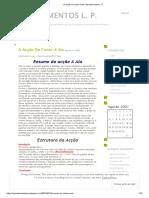 A Ação Do Conto a Aia _ Apontamentos L. P