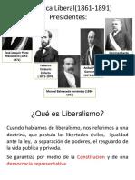 República Liberal 1861-1891