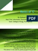 Basics of C (1)