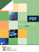 DoE Annual Report 2012 13