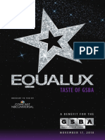 EQUALUX 2018 Auction Catalog and Program