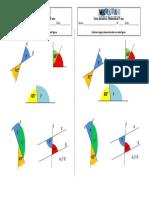 Ficha Formativa matemática - Relação Ângulos