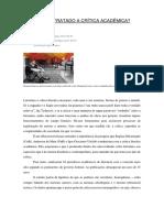 Do Que Tem Tratado a Crítica Acadêmica_artigo