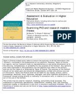 examinando tesis doctorales
