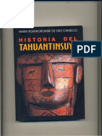maria rostworowski, Historia del Tahuantinsuyu