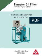 Thruster Oil Filter Compendium CJC 120713UK
