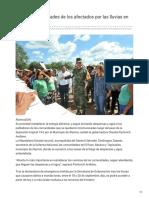 23-09-2018 - Atienden necesidades de los afectados por las lluvias en Álamos - ElImparcial