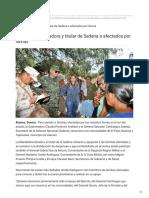 23-09-2018 - Atienden Gobernadora y titular de Sedena a afectados por lluvias - Uniradionoticias