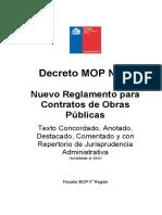 Decreto MOP N°75 nrcop