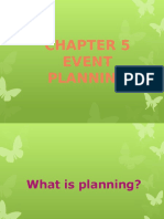 Chapter 5 (Edt) Event Planning