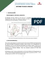 Informe Tecnico Mancha Urbana