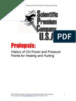 Prolepsis Report