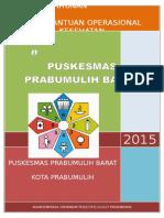 Contoh Laporan Tahunan BOK Tahun 2015