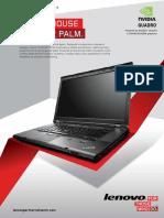 ThinkPad W530 Product Brochure