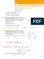 Teste de Avaliação 1- Funções Reais de Variável Real(Enunciado e Soluções)
