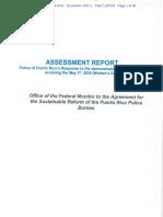 Informe Respuesta de La Policía de Puerto Rico Durante Las Manifestaciones e Incidentes Del 1ero de Mayo de 2018