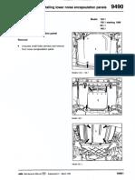 9490 - Removing & Installing Lower Noise Encapsulation Panels