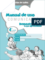 Manual Salida Comunicacion 4to Grado (1)