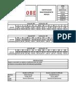Cert Reflex Gyro 540 - Xplomine La Zanja