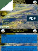 Plan de Marketing Empresa Pescado