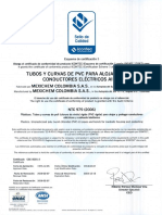 Tubos y Curvas de PVC Para Alojar y Proteger Conductores El Ctricos Aislados Pavco - NTC 979 (3)