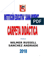 CARPETA DIDACTICA 2018