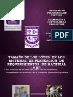 PROCESOS DE PRODUCCIÓN EXPOSICIÓN