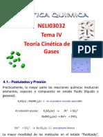 IV-Teoria Cinetica de Los Gases 2014