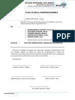 Informe Nº002 - Construcciones II
