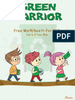 6 8 Green Warrior Free Worksheets 2018