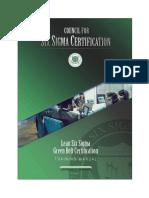 Lean Six Sigma Certification CSSC Green Belt