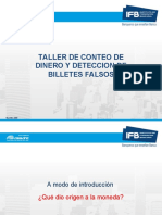 Taller de Conteo y Deteccin de Billetes Falsificados