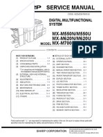 MX M620 Service