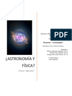 Proyecto de Astronomía