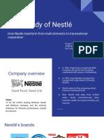 Case Study Nestle